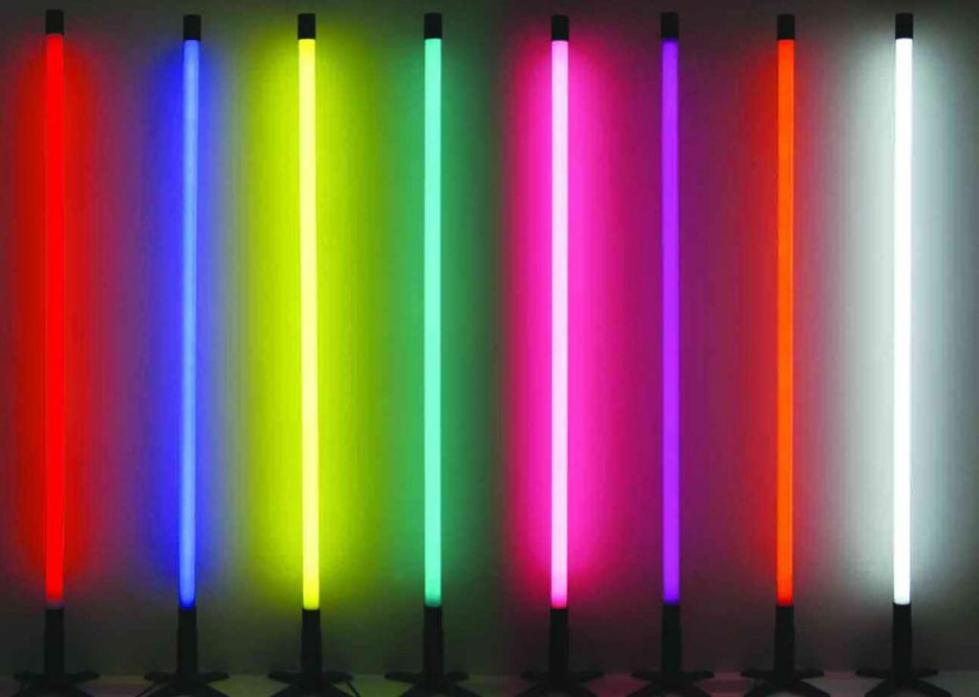 Неоновые трубки - цветовая гамма