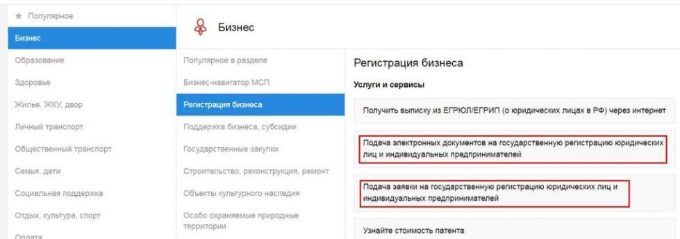 Информация об открытии ИП через МФЦ