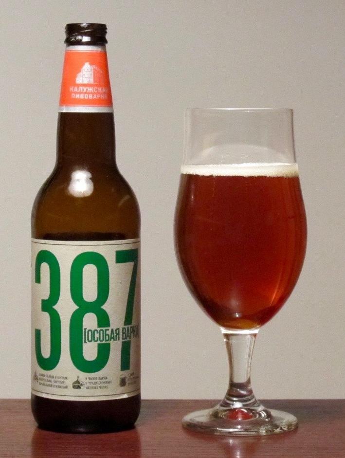 """Пиво """"387. Особая варка"""""""