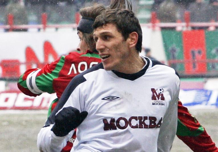 Будун Будунов в составе ФК Москва