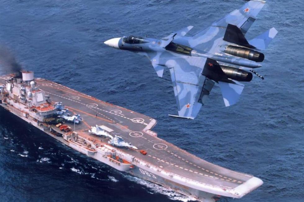 российский авианосец
