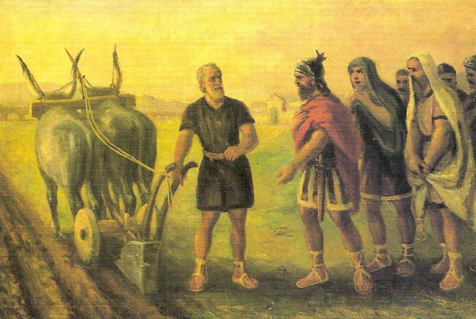 Скот продавали посредством манципации