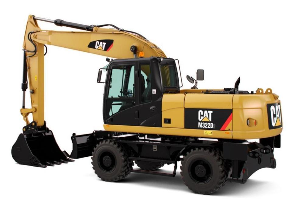 Экскаватор Caterpillar 320
