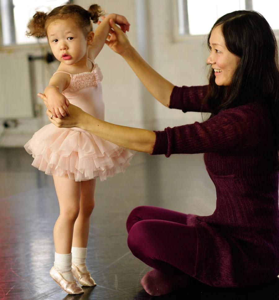 танцы для маленьких девочек