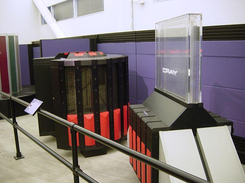 Супер ЭВМ Cray-2