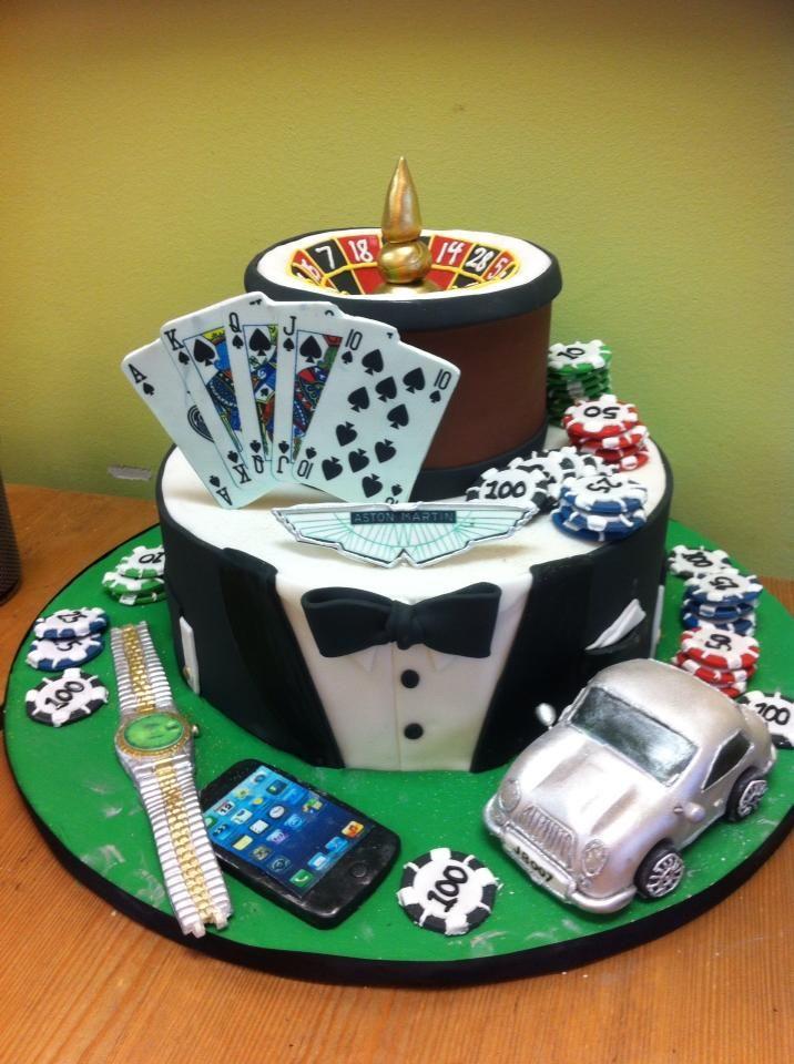 Торт с развлечениями