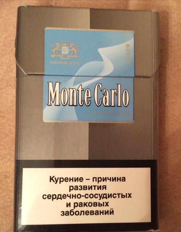 легкие сигареты монте карло