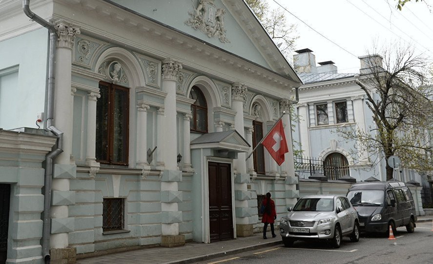 посольство швейцарии в москве