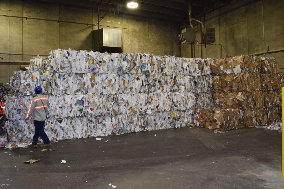 Складирование мусора