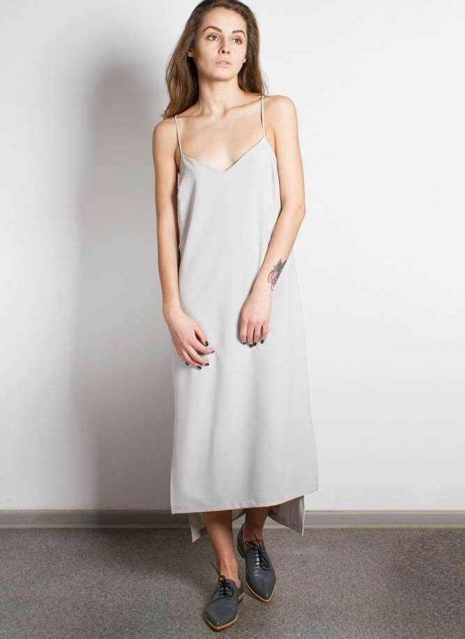платье комбинация выкройка своими руками