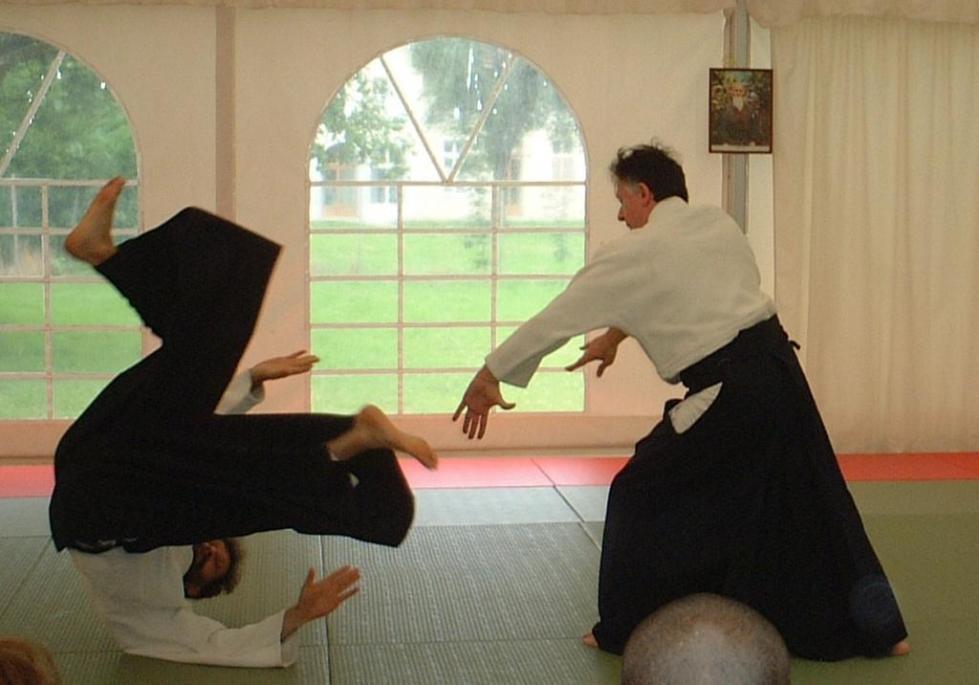 Тренировка в айкидо