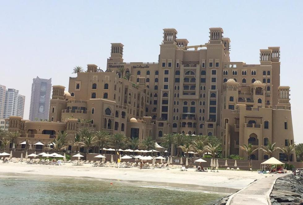 sheraton sharjah beach resort spa deluxe room