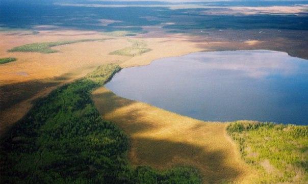 Вид на Адовое озеро
