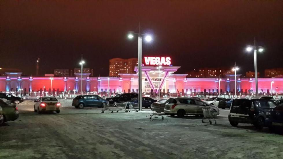 Один из самых больших торговых центров в России Vegas