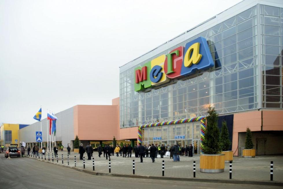 МЕГА «Белая Дача». Один из самых больших торговых центров в России