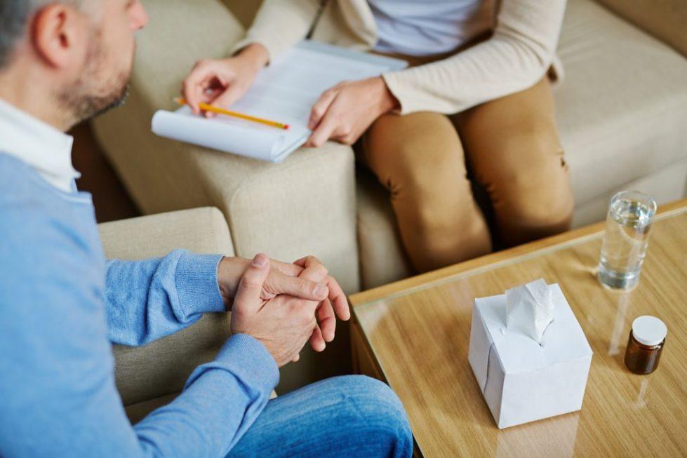 Беседа с психотерапевтом