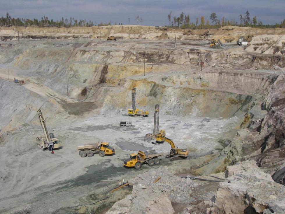Разработка Покровского рудника