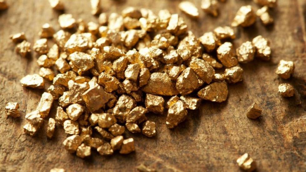 Золото из рудника