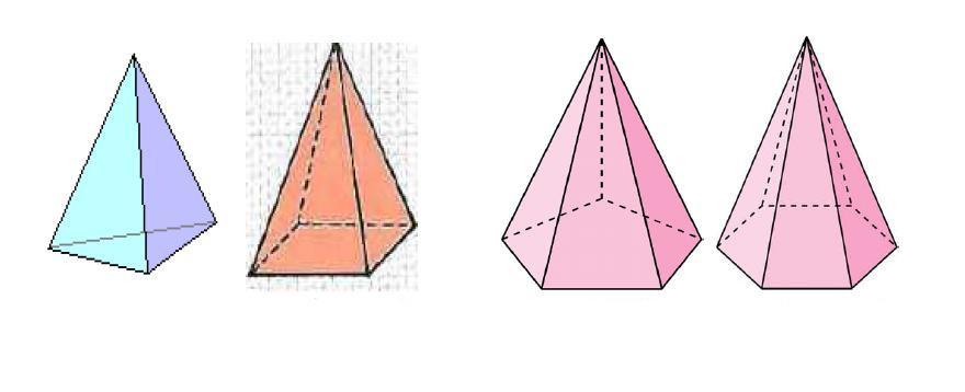 Разные виды пирамид