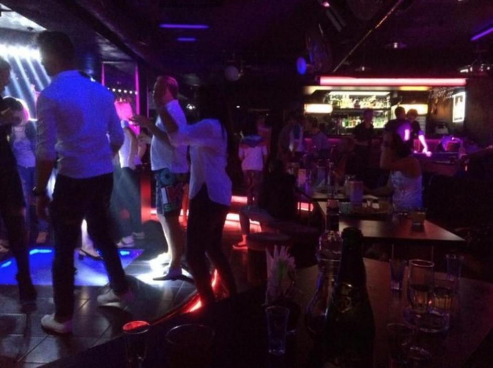 Один из вечеров в клубе.