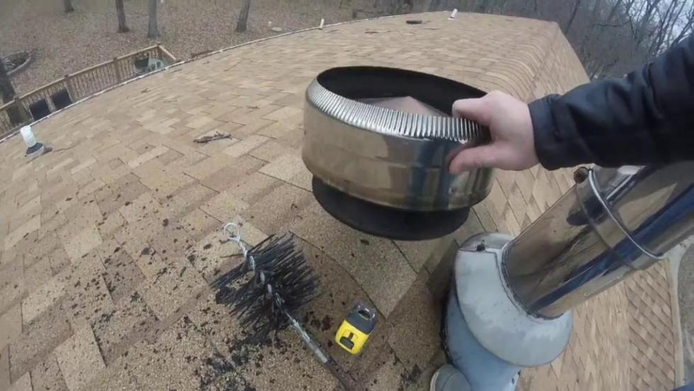 Как почистить дымоход в доме