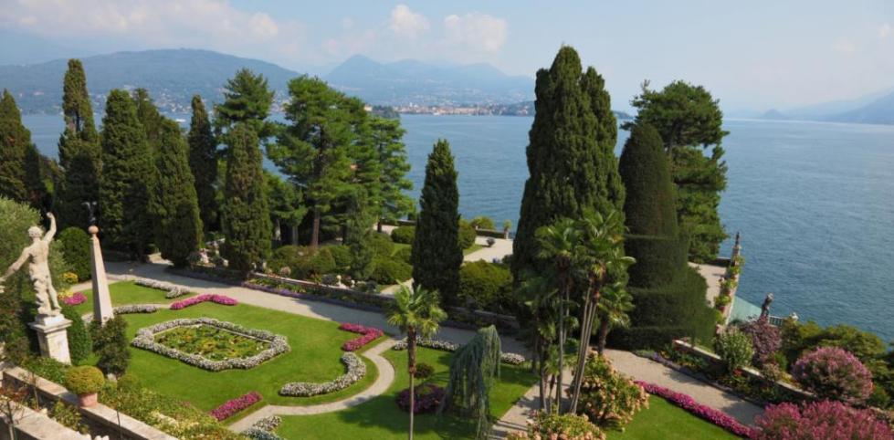 Сад Альпиния и гора Маттароне
