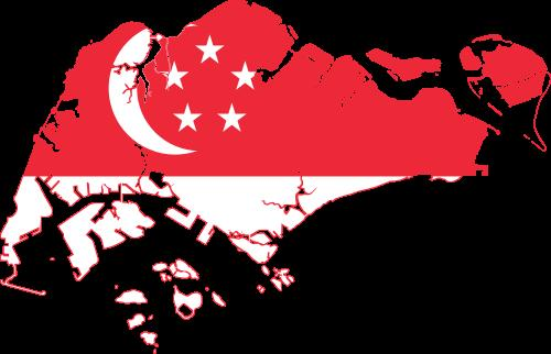 Территория и флаг Сингапура