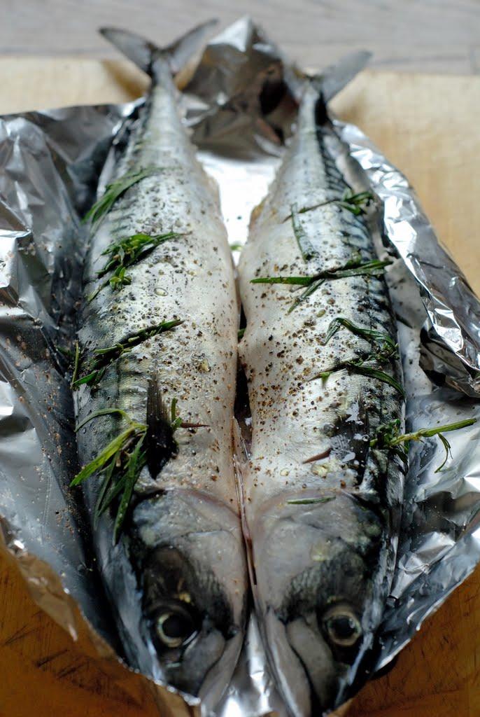 скумбрия запеченная в фольге в духовке рецепт
