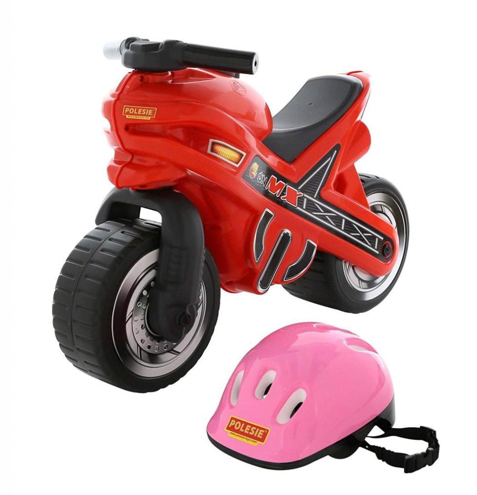 мотоцикл со шлемом