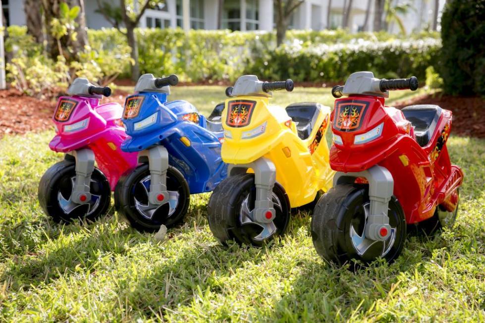 """детские мотоциклы """"Полесье"""""""