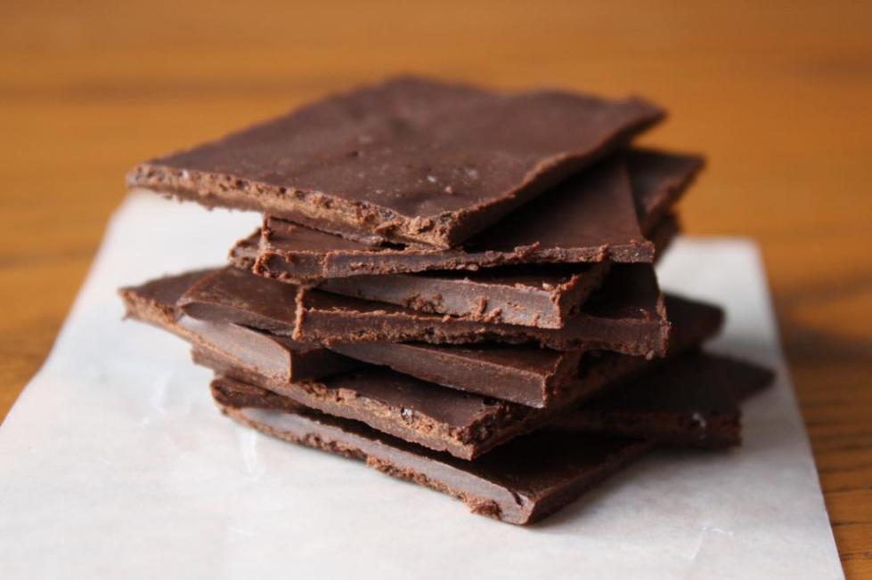Стопка из шоколада