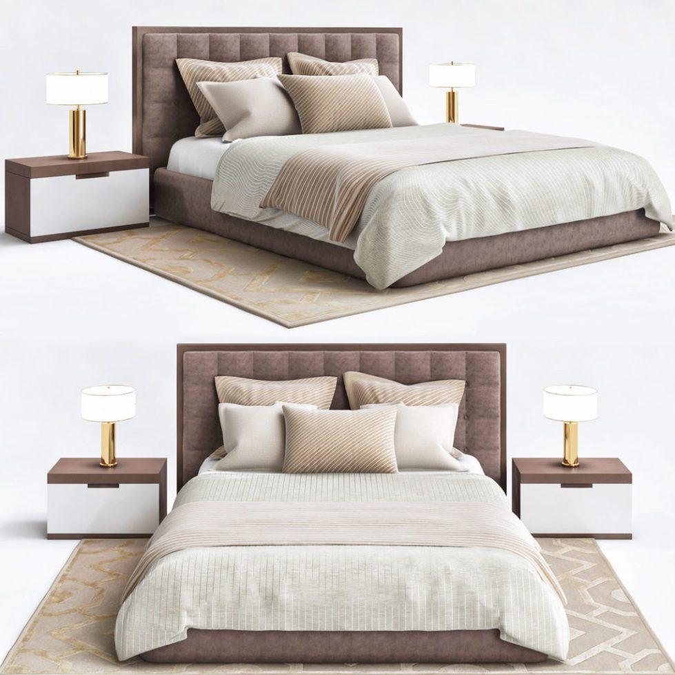 Кровать для двоих большого размера