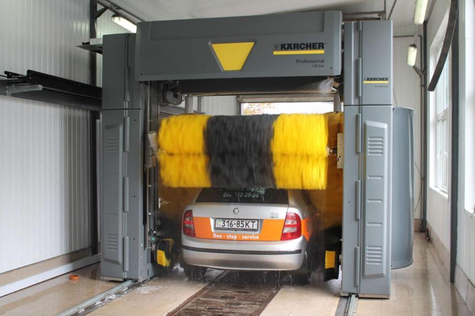 Устройство портальных автомоек Karcher
