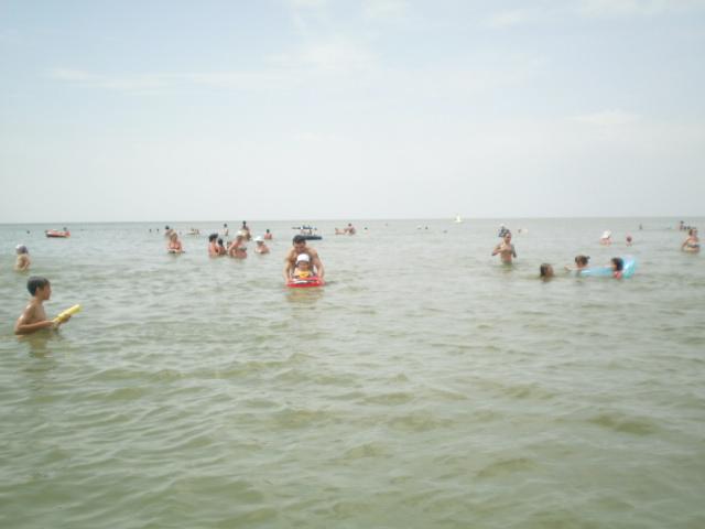 Пляж в Рожке