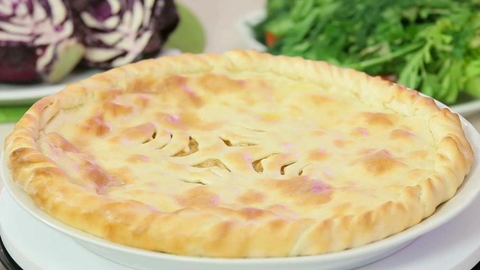 осетинские пироги с творогом и зеленью