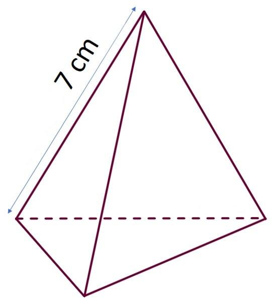 Боковое ребро пирамиды треугольной