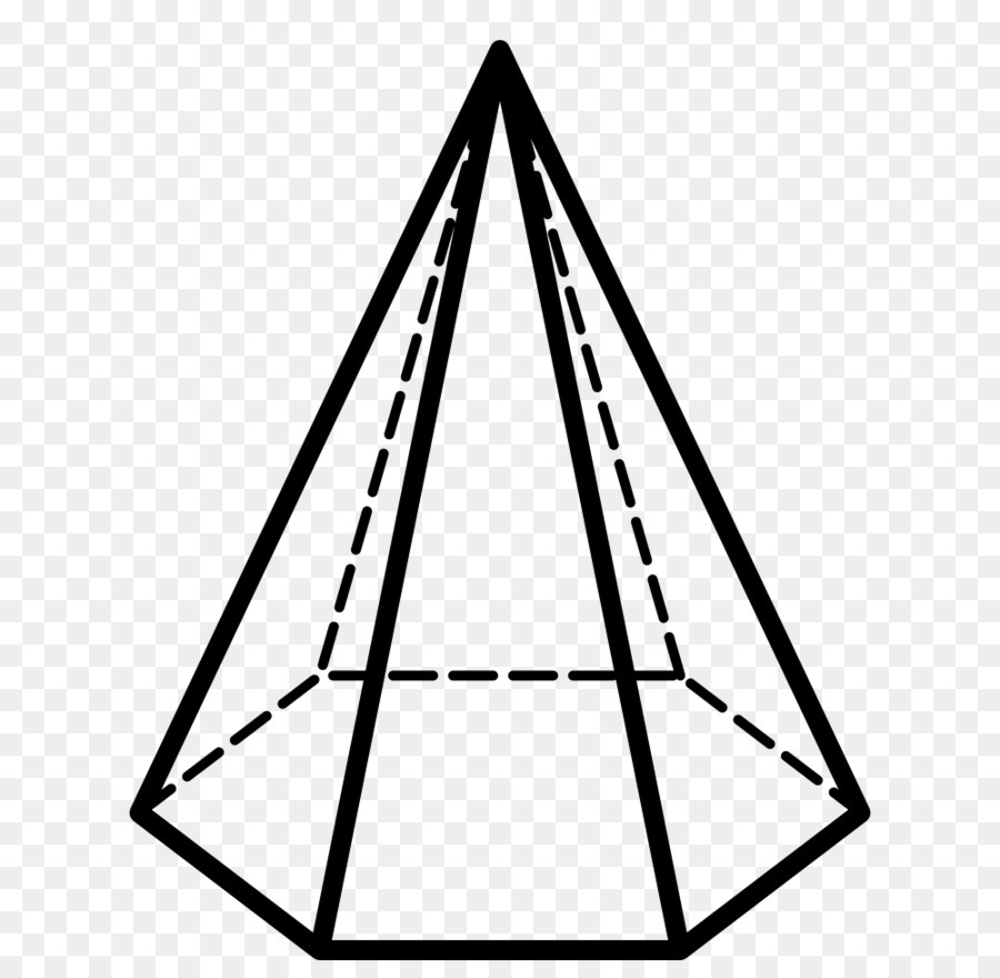 Шестиугольная пирамида