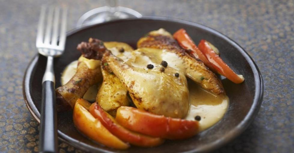 Курица с барбарисом
