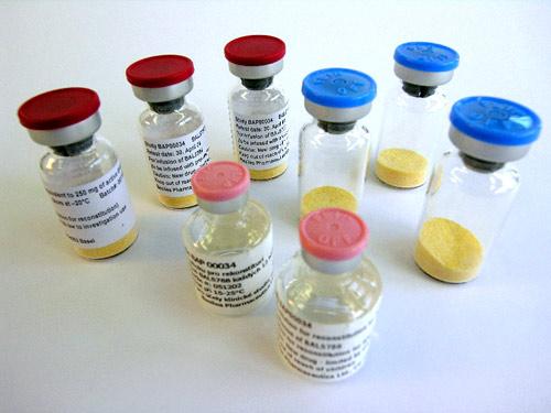 Пробы антибиотиков.