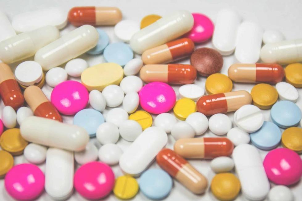 Яркие антибиотики.