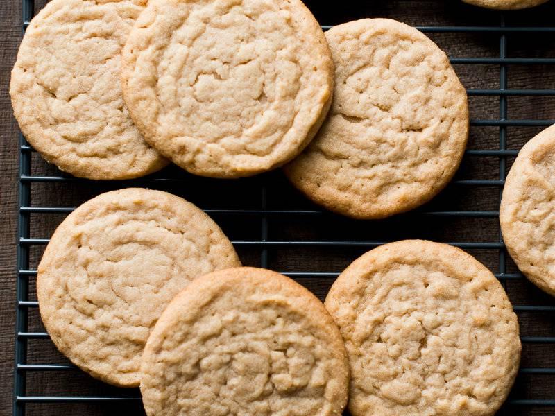 мягкое печенье песочное