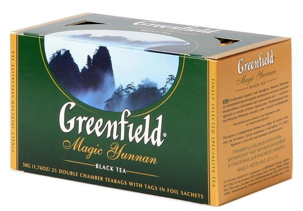 Коробка чая Гринфилд