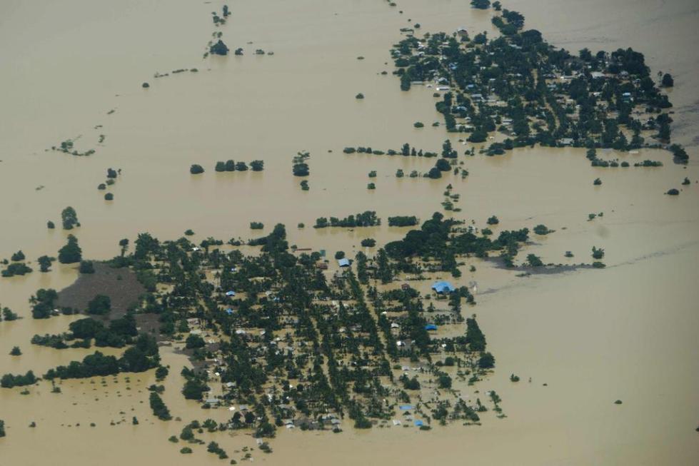 наводнение на Мьянме