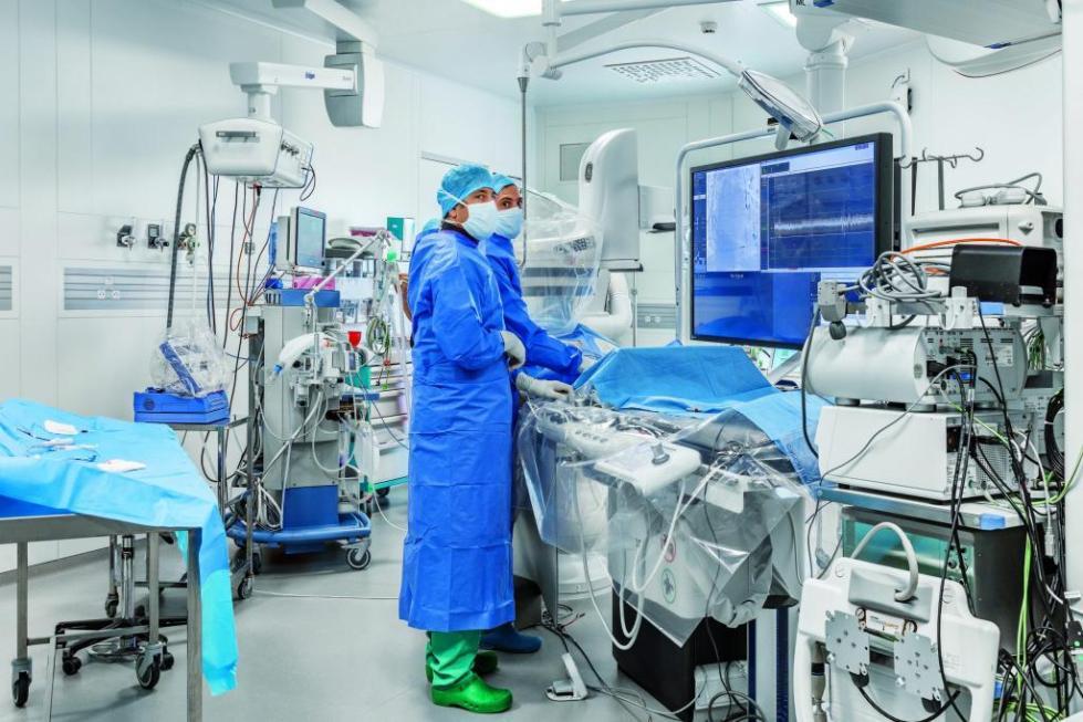 В операционной палате