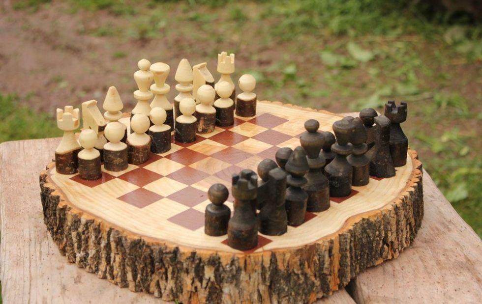 самодельные шахматы
