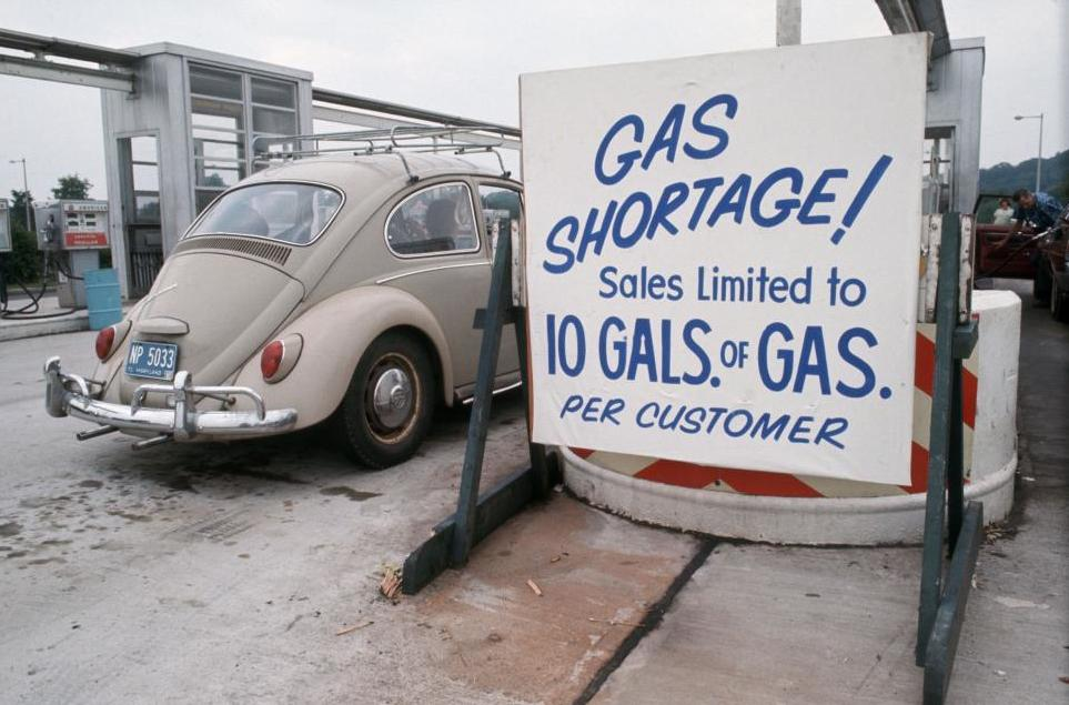 Дефицит бензина.