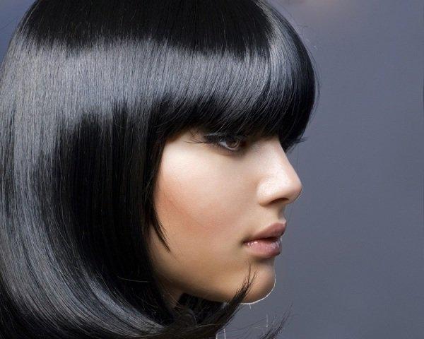 Оттенки черного цвета волос палитра
