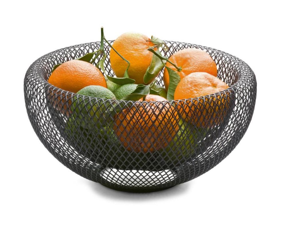 фруктовница металлическая для апельсинов