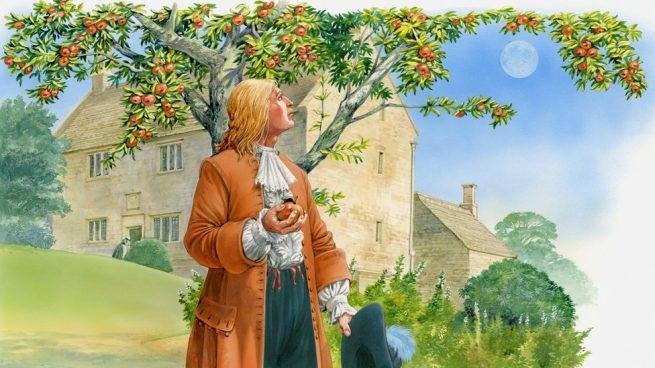 Ньютон и сила тяжести