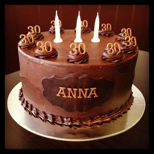 шоколадный торт анна